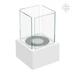 Biokominek Tango 1 biały mały stołowy