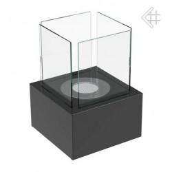 Biokominek Tango 2 czarny mały na taras i ogród