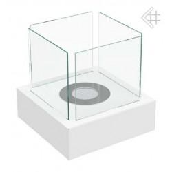 Biokominek Tango 3 biały tani na stół