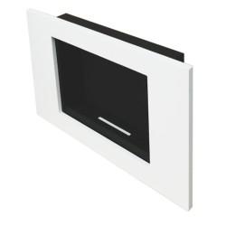 Biokominek Goya biały wiszący lub do zabudowy