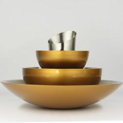 Biokominek Apus gold 25 stołowy, stojący