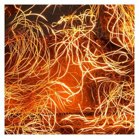włókna żarowe do biokominka. Efekt żarzenia glow flame.