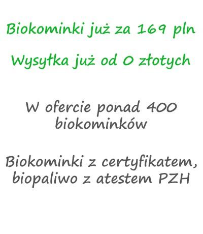Biokominki w promocji